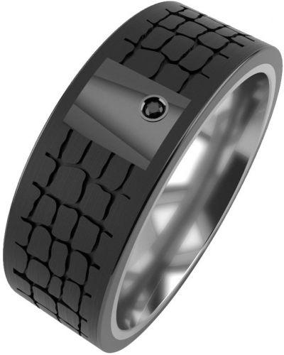 Серебряное кольцо с фианитом Graf кольцов