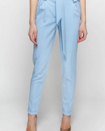 Классические брюки голубой весенний Zubrytskaya
