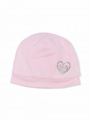 Różowy kapelusz bawełniany Chiara Ferragni Kids