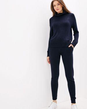 Костюм вязаный синий Conso Wear