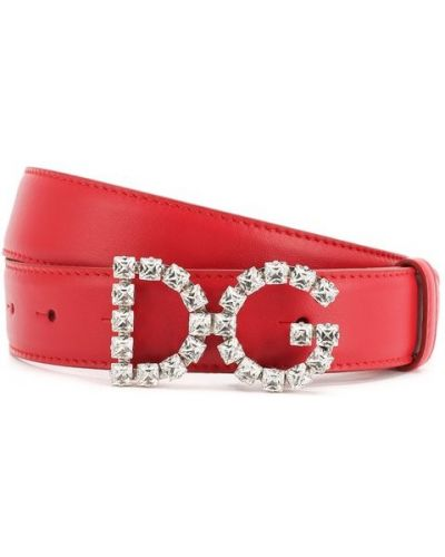 Ремень красный Dolce & Gabbana