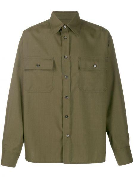 Koszula z długim rękawem wojskowy prosto Marni