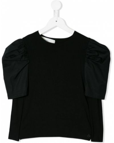Черная блуза Nostra Santissima Kids