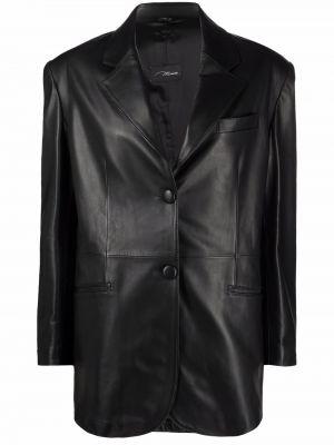 Черный пиджак на пуговицах Manokhi