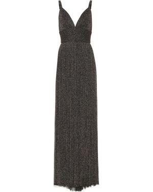 Платье с завышенной талией вязаное Elie Saab