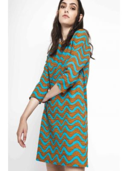 Платье мини прямое хлопковое Compania Fantastica