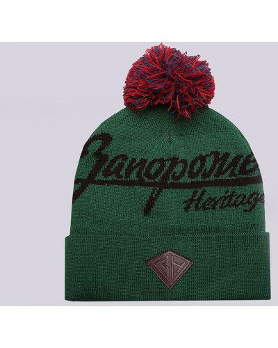 Зеленая шапка Запорожец Heritage