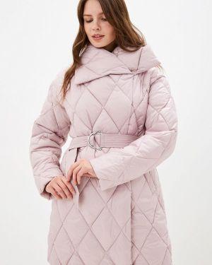 Теплая розовая утепленная куртка Odri Mio