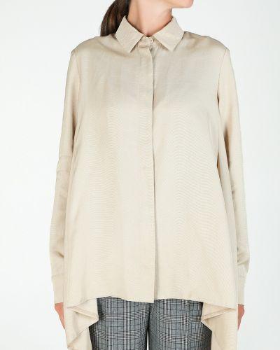 Блузка из вискозы на пуговицах Glam Casual