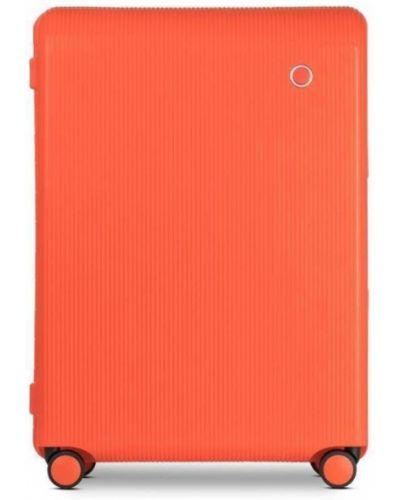 Walizka materiałowa - pomarańczowa Echolac