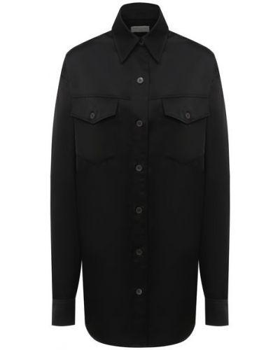Хлопковая рубашка с карманами Dries Van Noten