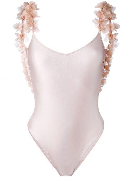 Слитный купальник - розовый La Reveche