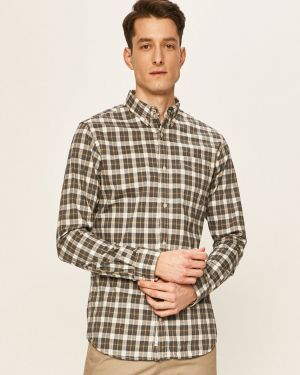 Koszula z kołnierzem na przyciskach Premium By Jack&jones