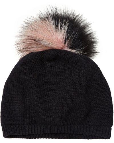 Вязаная шапка с помпоном из джерси Miu Miu