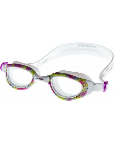 Белые очки для плавания Joss