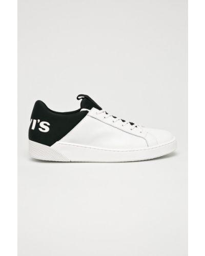Кожаные кроссовки - белые Levi's®