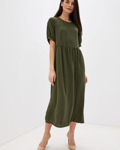 Прямое зеленое платье Missguided