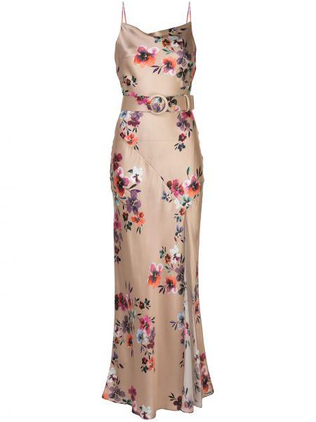 Платье макси на бретелях с цветочным принтом Nicholas