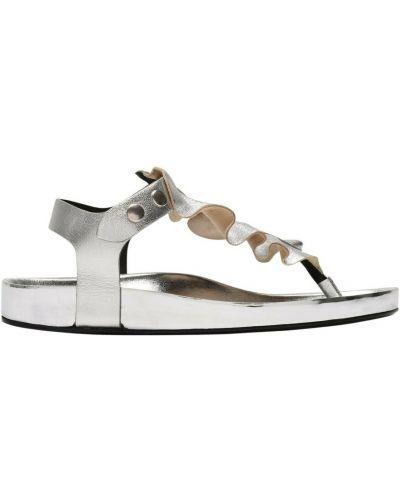 Szare sandały Isabel Marant