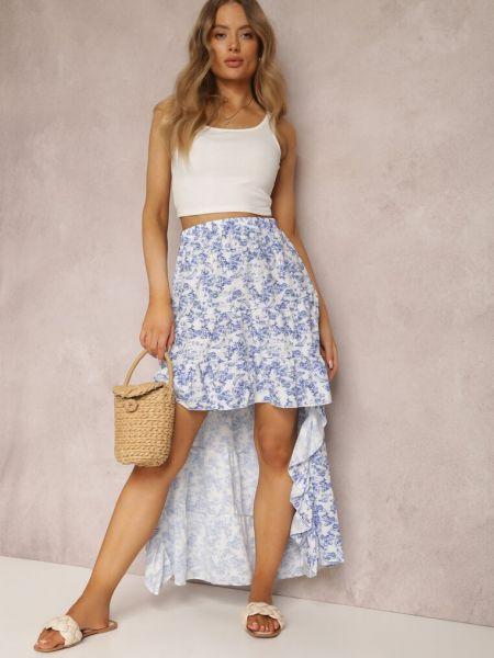 Biała spódnica materiałowa Renee
