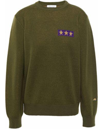 Шерстяной свитер - зеленый Bella Freud