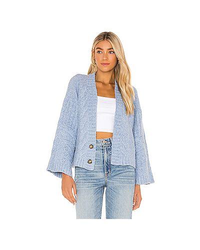 С рукавами акриловый вязаный свитер For Love & Lemons