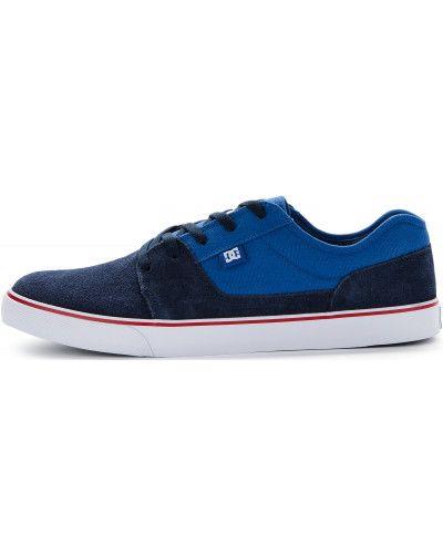 Кеды на шнуровке синий Dc Shoes
