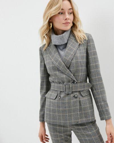 Серый пиджак Lusio