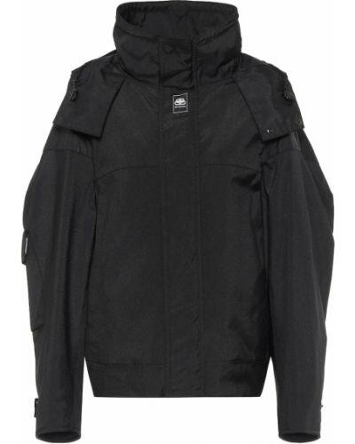 Пуховая черная зимняя куртка Balenciaga
