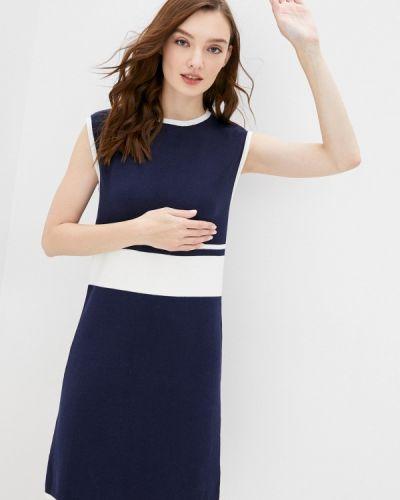 Прямое синее платье Felix Hardy