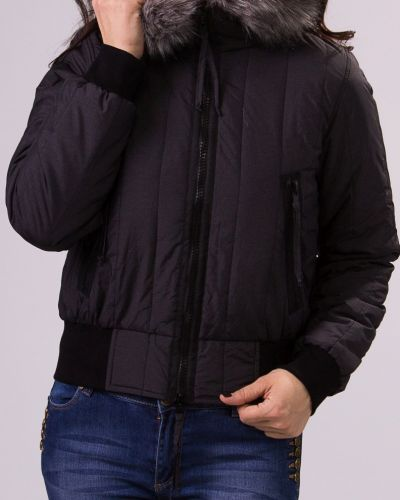Утепленная куртка с капюшоном с мехом Lacywear