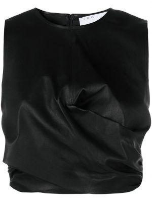 Кожаный топ - черный Iro