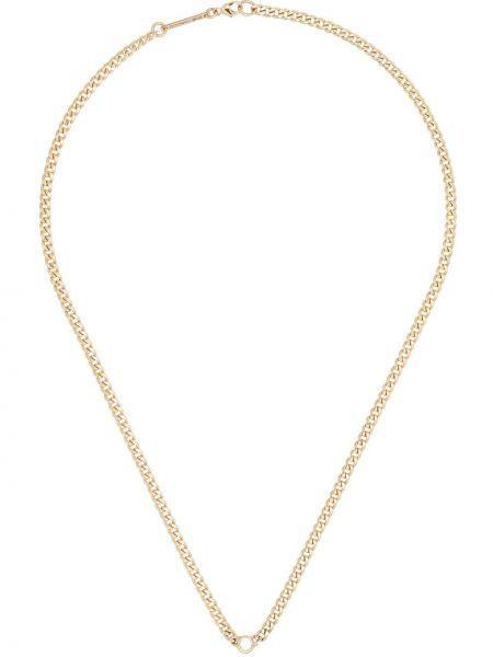 Желтое ожерелье с бриллиантом Zoë Chicco