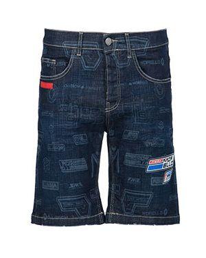 Джинсовые шорты летние синий Frankie Morello