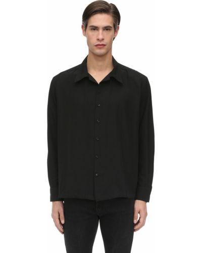 Klasyczna czarna klasyczna koszula Other