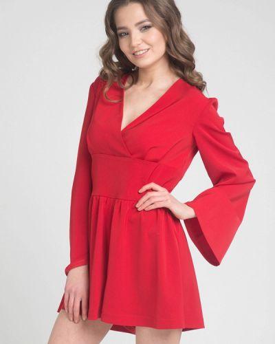 Красный комбинезон с шортами Cauris