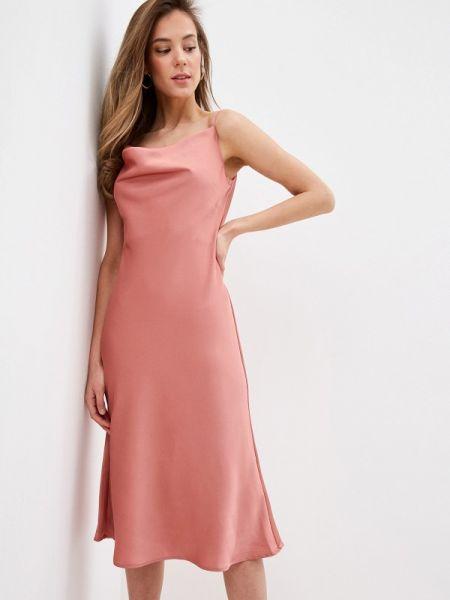 Платье платье-комбинация розовое Chi Chi London