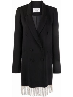 Платье макси длинное - черное Forte Dei Marmi Couture