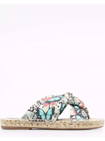 Черные резиновые сандалии Sophia Webster