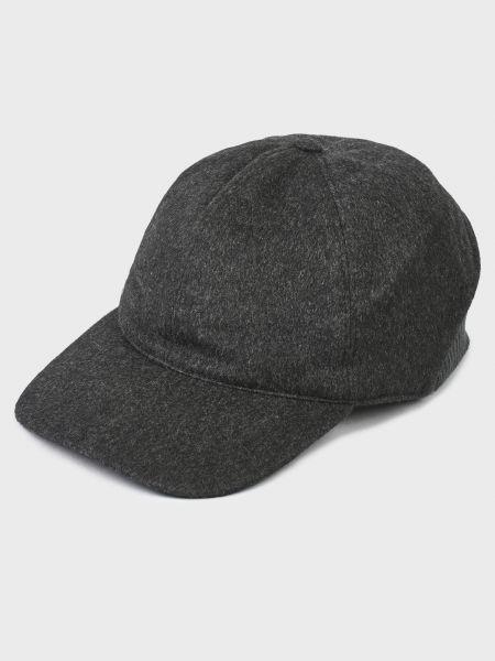 Кашемировая кепка - серая Corneliani