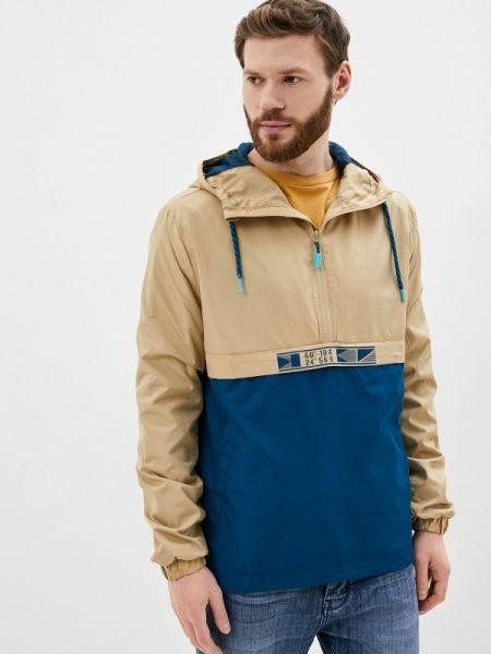 Бежевая облегченная куртка Stitch & Soul