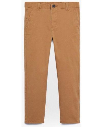 Бежевые брюки Mango Kids