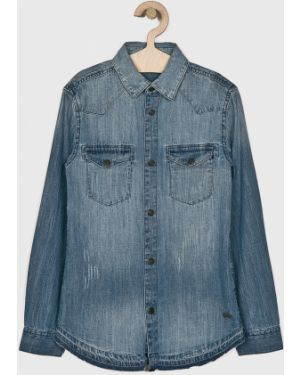 Синяя джинсовая рубашка Blukids