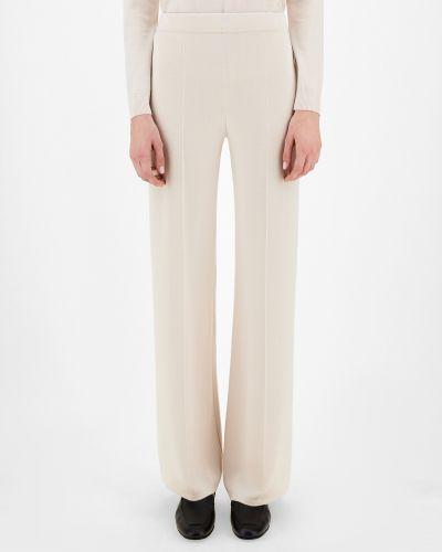 Шерстяные брюки - белые Maxmara