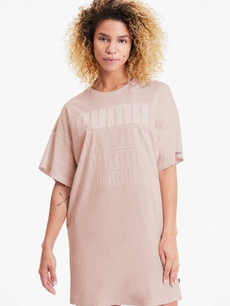 Платье розовое платье-сарафан Puma