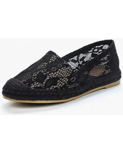Черные слипоны Sweet Shoes
