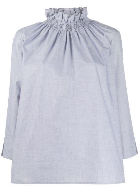 Блузка с длинным рукавом с оборками с манжетами Teija
