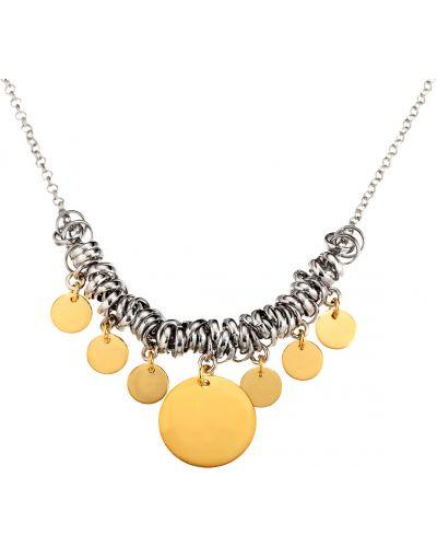 Ожерелье золотое с подвесками позолоченное Madde