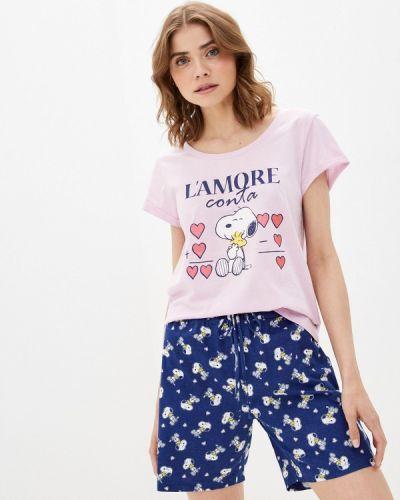 Фиолетовая пижама Nymos