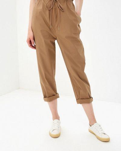 Коричневые брюки прямые Rinascimento